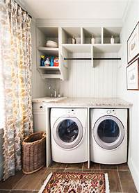 pictures of laundry rooms Small Laundry Room Ideas to Try | KeriBrownHomes