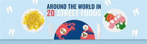 street foods   world infographic