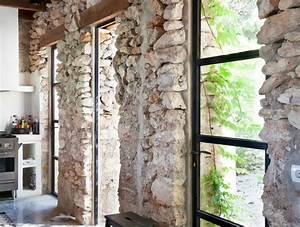 Mur Pierre Apparente : interieur maison pierre kb94 jornalagora ~ Premium-room.com Idées de Décoration