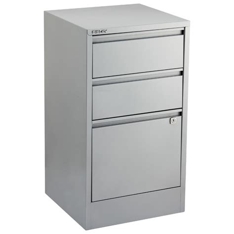 desk with locking file cabinet bisley silver 2 3 drawer locking filing cabinets the