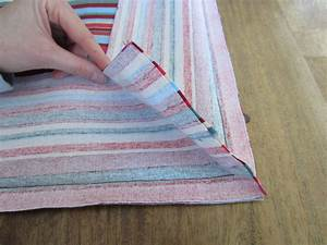 How to cover sofa cushions without sewing how to sew for How to cover sofa cushion without sewing