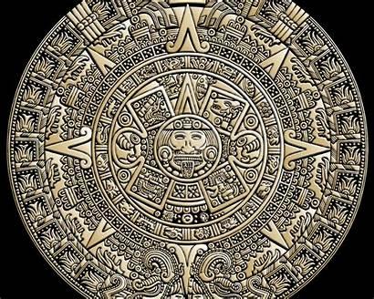 Desktop Aztec Calendar Warrior