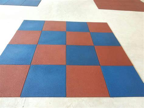 rubber tile flooring sports
