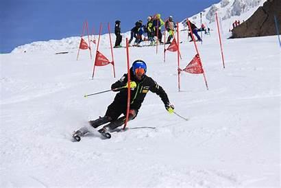 Slalom Ski Skiing Gate Skills Snow Skiracing
