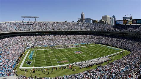 bank  america stadium seating chart pictures directions  history carolina panthers espn