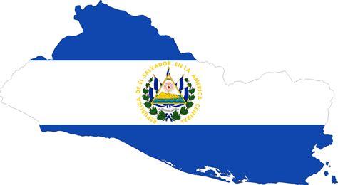 El Salvador Map Art