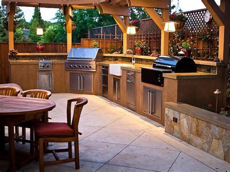 outdoor kitchen countertops pictures ideas  hgtv hgtv