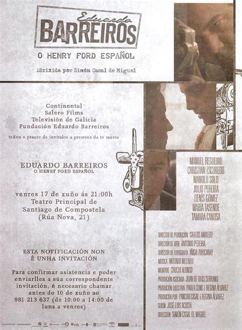 eduardo barreiros el henry ford espa 241 ol tv 2011