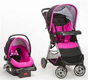 Disney Minnie Mouse Pop Stroller and Car Seat Travel System