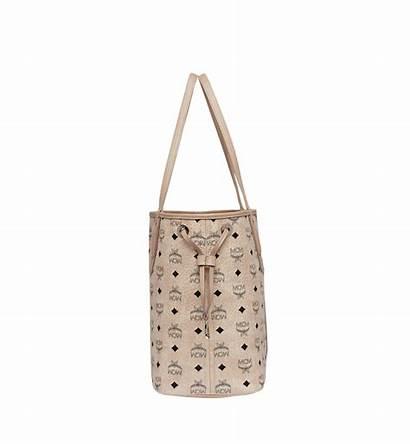 Visetos Liz Reversible Shopper Beige Wendeshopper Mcm