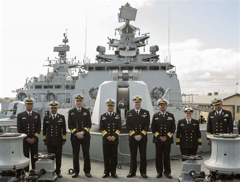 Indian Navy Crosses Oceans To Visit Australia