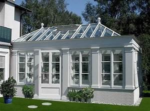 bauen wintergarten im klassischen stil von fresand bild With markise balkon mit tapeten für kleine räume