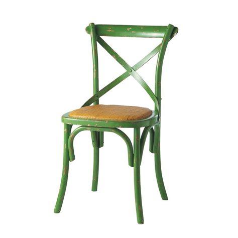 la chaise verte chaise verte tradition maisons du monde