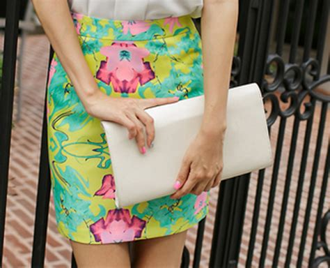 secretgirls pencil cut floral skirt kstylick latest