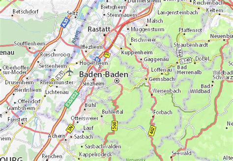 Map of germany and travel information about germany brought to you by lonely planet. Map of Baden-Baden - Michelin Baden-Baden map - ViaMichelin