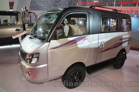 Mahindra Supro Customised Version Auto Expo Live