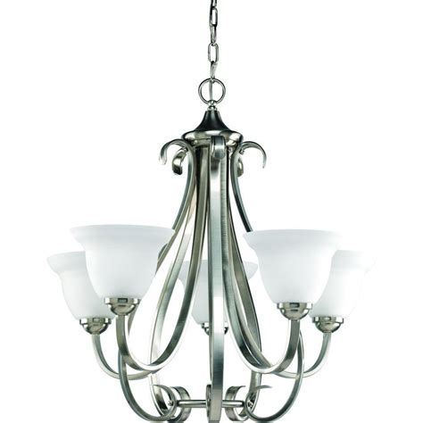 brushed nickel pendant lighting kitchen progress lighting torino collection 5 light brushed nickel 7973