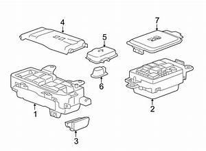 Jaguar Xe Fuse Box  Fuse Box Main  Electrical  Front