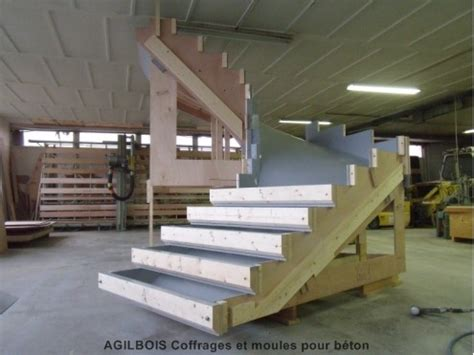 escalier coffrage escalier beton 4 coffrage bois