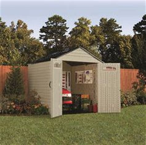 rubbermaid roughneck 7x7 storage shed 1000 images about garden shed options on
