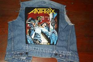 Name For A Cover Letter Anthrax Spreading The Disease Back Patch Original