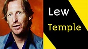 Lew Temple Biography, Age, Height, Movies, Family & More