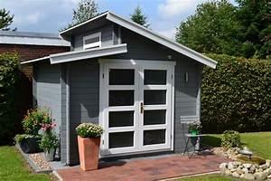 Wpc Gartenhaus Flachdach : gartenhaus grau wei moderner gartentrend mit stil ~ Whattoseeinmadrid.com Haus und Dekorationen