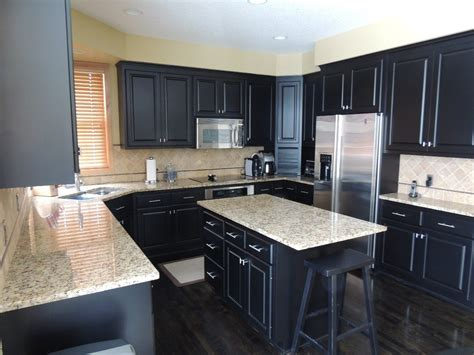 dark cabinets with wood floors laminate flooring kitchen dark cabinets amazing tile