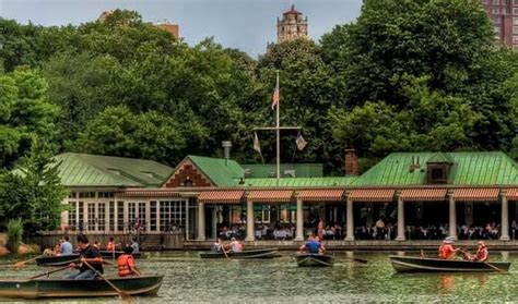 Central Park Boat Dock by Things To Do In Nyc The Loeb Boathouse In