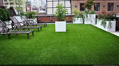 Lawn Patio by Kansas City Synthetic Turf Roof Deck And Patio Applications
