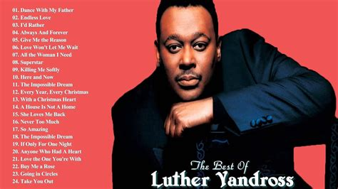 luther vandross greatest hits  songs  luther