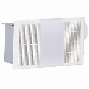 Nutone 70 Cfm Ceiling Bathroom Exhaust Fan With Light