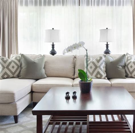 Balanced beige living room  Beautiful and Timeless
