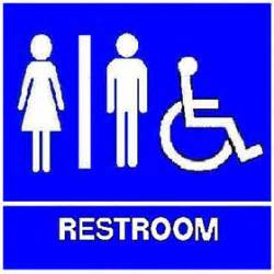 Printable Handicap Bathroom Signs by Handicap Signage Clipart Best