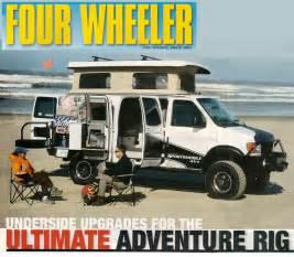 mercedes emergency road service sportsmobile custom cer vans four wheeler magazine
