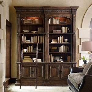 15, Ideas, Of, Bookcases, With, Ladder, And, Rail