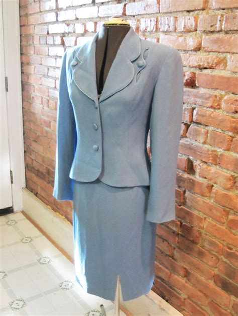 light blue suit womens 17 best images about vintage suits on pinterest wool