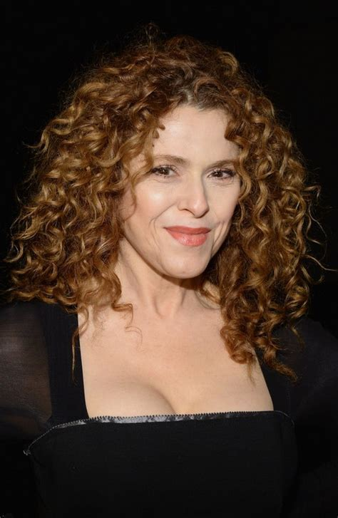 Bernadette Peters Medium Blonde Curly Hairstyle   Styles