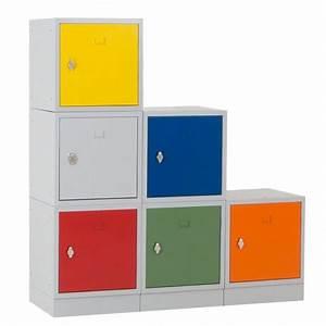 Casier Metal Empilable : vestiaire casier multibox m tallique empilable vestimetal ~ Teatrodelosmanantiales.com Idées de Décoration