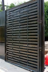 Modern Front Fence Gate Designs Metal