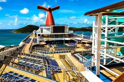 Top 7 Carnival Cruise Ships For First-Time Cruisers