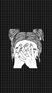 black and white grid | Tumblr