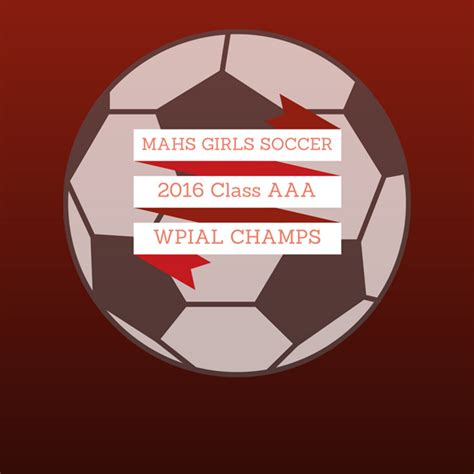 mahs girls soccer named wpial class aaa champions moon area high