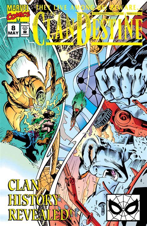 Clandestine (1994) #8   Comic Issues   Marvel