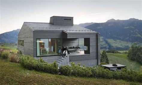 Moderne Häuser Schwarz by Architekturb 252 Ro Ivan Cavegn Ferienhaus Schwarz Degen