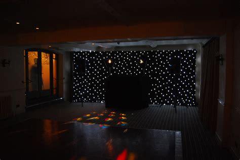 white backdrop with lights cheltenham dj musings from www cheltenhamweddingdj co uk