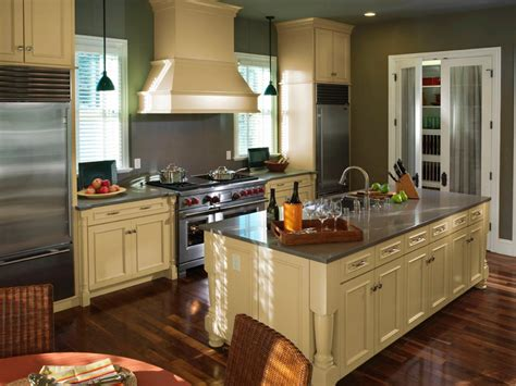kitchen with island layout kitchen layout templates 6 different designs hgtv 6523