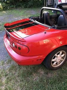 1991 Mazda Mx  Black Top