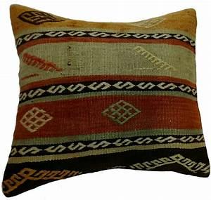 coussins kilim housse de coussin 50 x 50 cm With tapis couloir avec housse de canapé ajustable