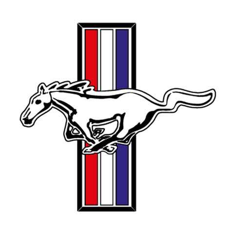 Ford Mustang Logo by Ford Mustang Logo Decal